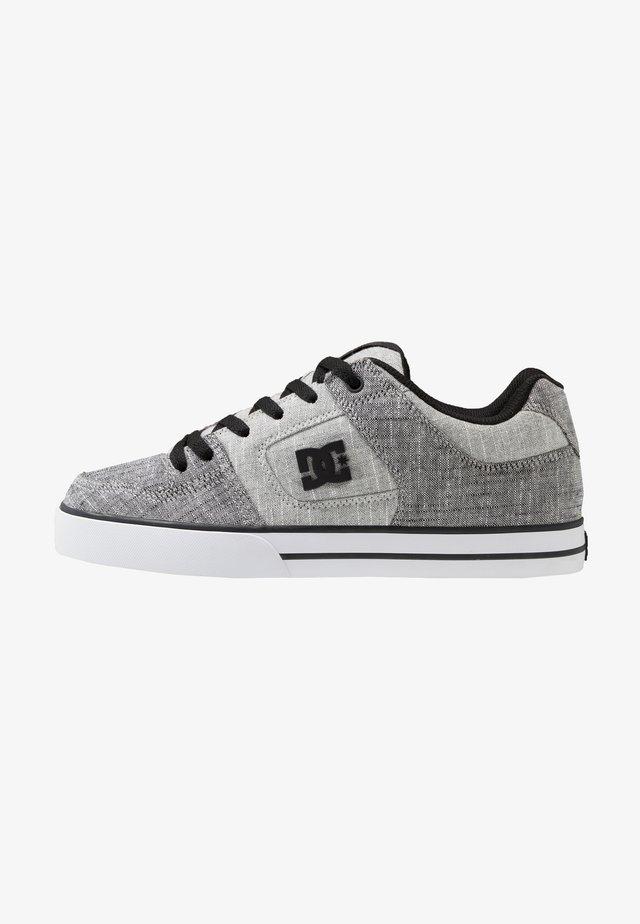 PURE SE - Skateboardové boty - grey/white/grey
