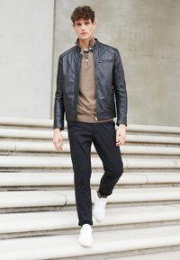 Selected Homme - SLHSLIM-MILES - Chino - black - 4