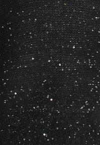 Vero Moda - VMLEILANI O-NECK - Jumper - black/silver - 2