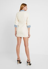 Sister Jane - TREAD TWEED MINI DRESS - Shirt dress - cream - 3