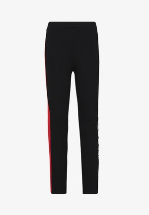 PUNTO LOGO - Leggings - Trousers - black