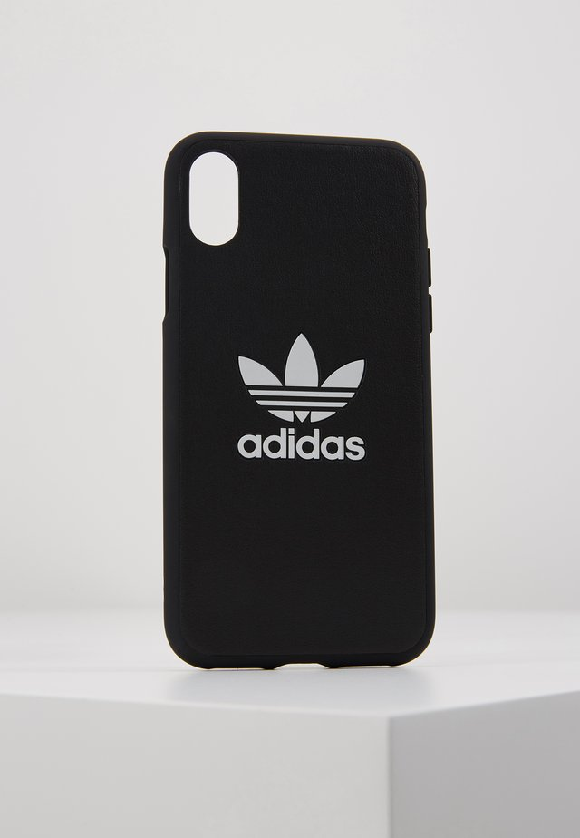 MOULDED CASE TREFOIL FOR IPHONE X/XS - Portacellulare - black/white