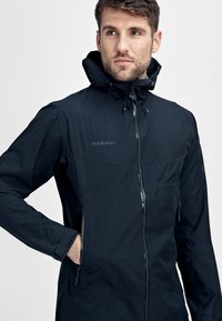 Mammut - CONVEY TOUR HOODED JACKET MEN - Veste Hardshell - marine - 4