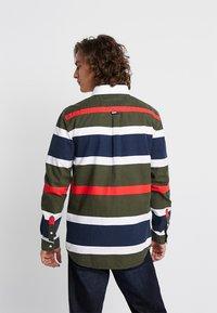 Tommy Jeans - RETRO STRIPE - Shirt - green - 2