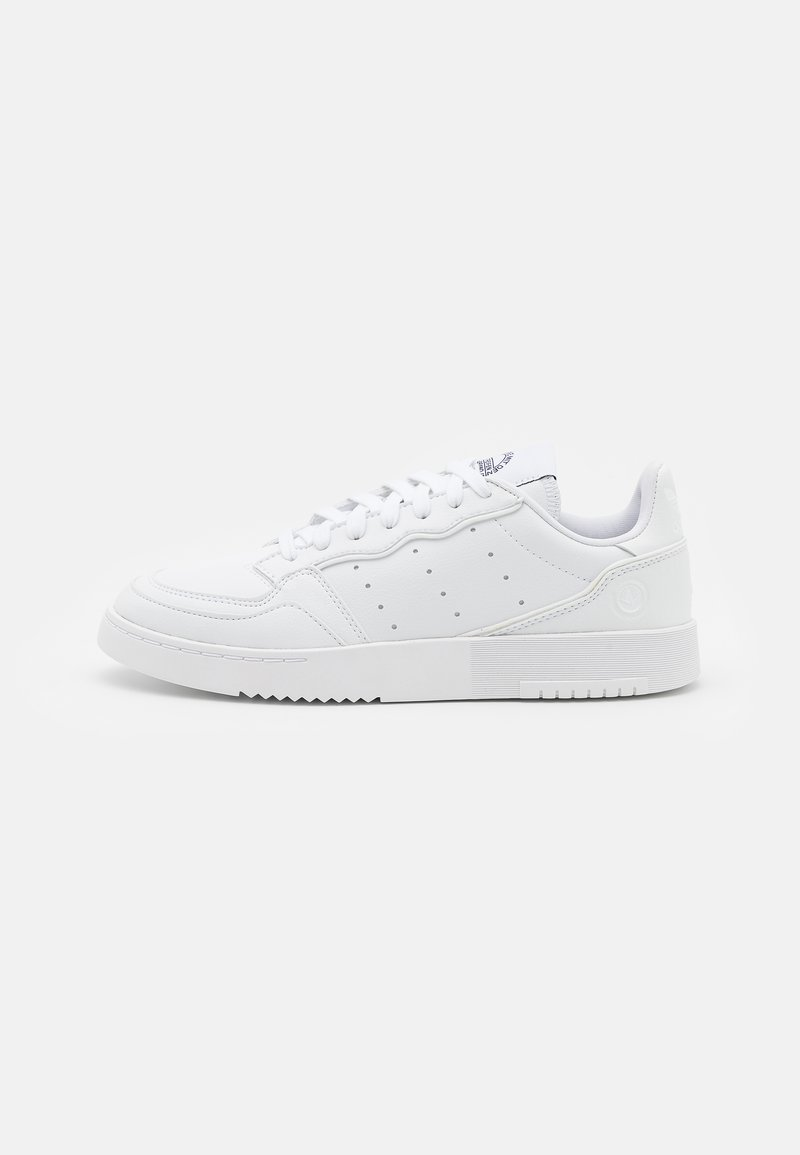 adidas Originals - SUPERCOURT VEGAN UNISEX - Trainers - footwear white