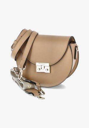 SANDVIKA - Across body bag - beige