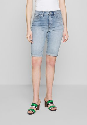 Jeansshorts - light indigo wash