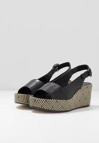 Högl - Platform sandals - schwarz - 4