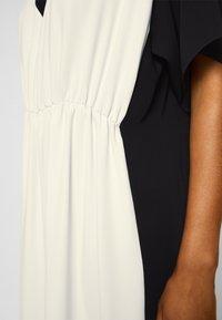 MM6 Maison Margiela - DRESS - Cocktail dress / Party dress - black/off white - 7