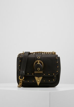CROSS BODY FLAP CHAINRODEO - Across body bag - nero