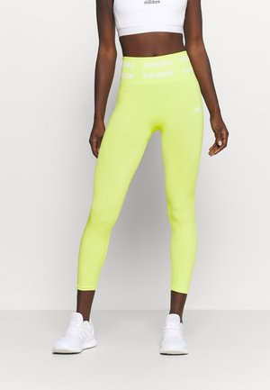 Leggings - acid yellow