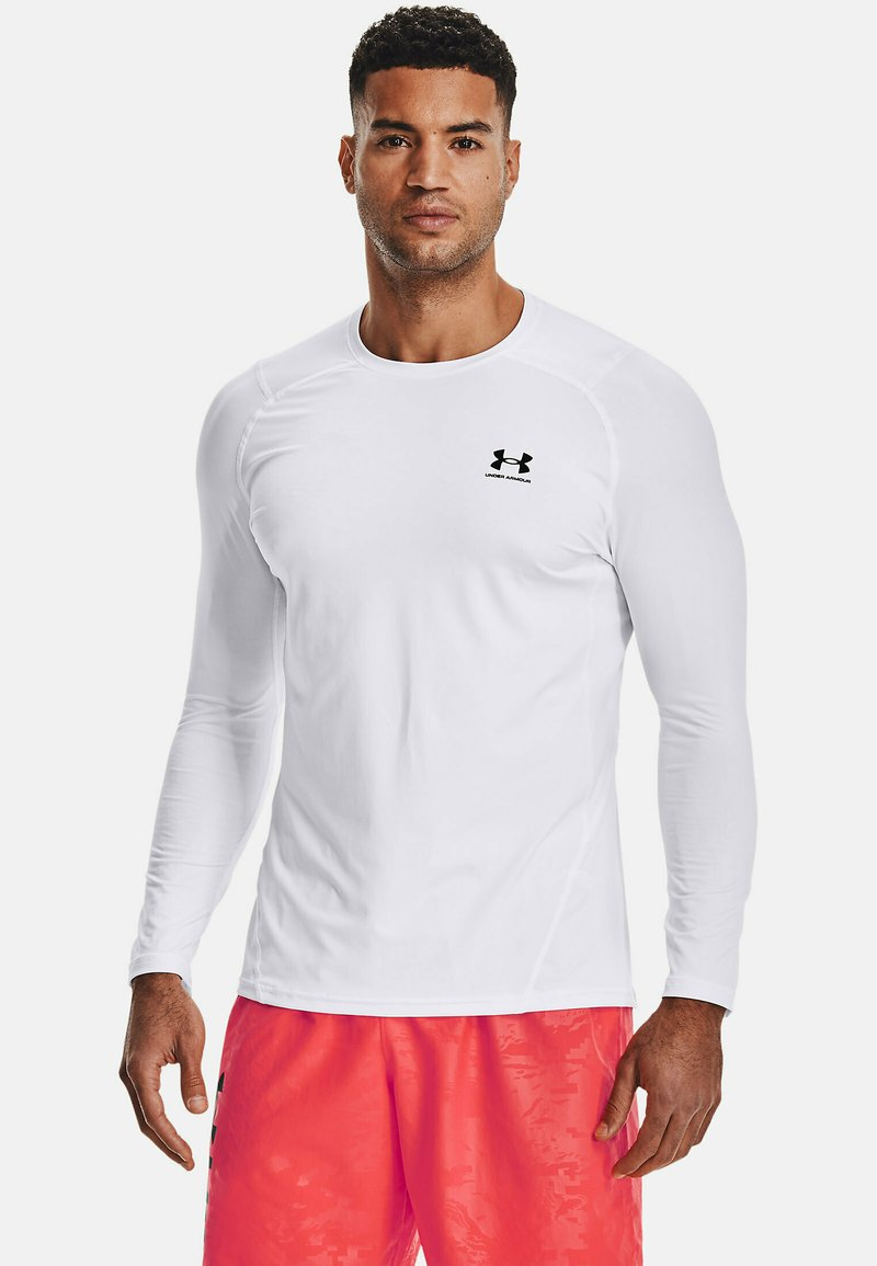 Under Armour - Long sleeved top - white