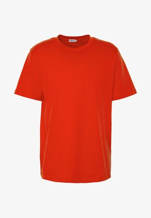 SINGLE CLASSIC TEE - Basic T-shirt - red orange