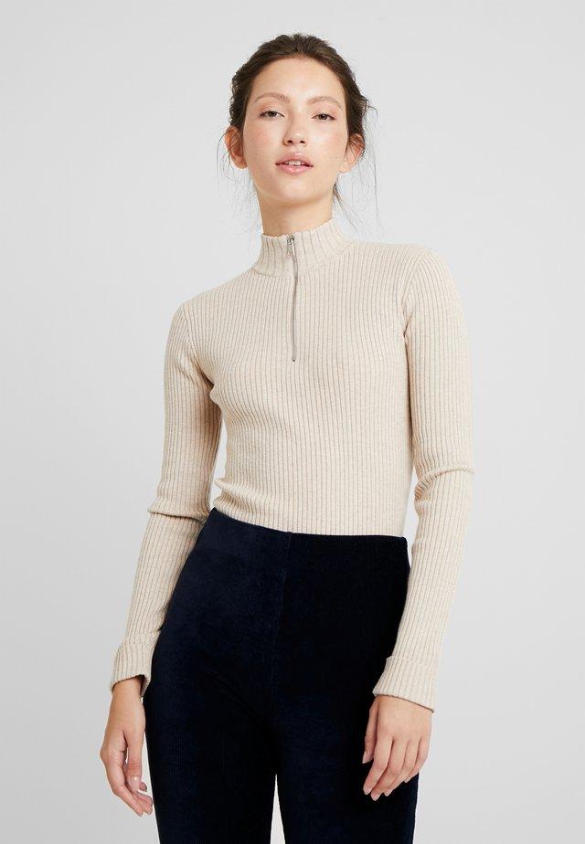 ALISON JUMPER - Sweter - beige