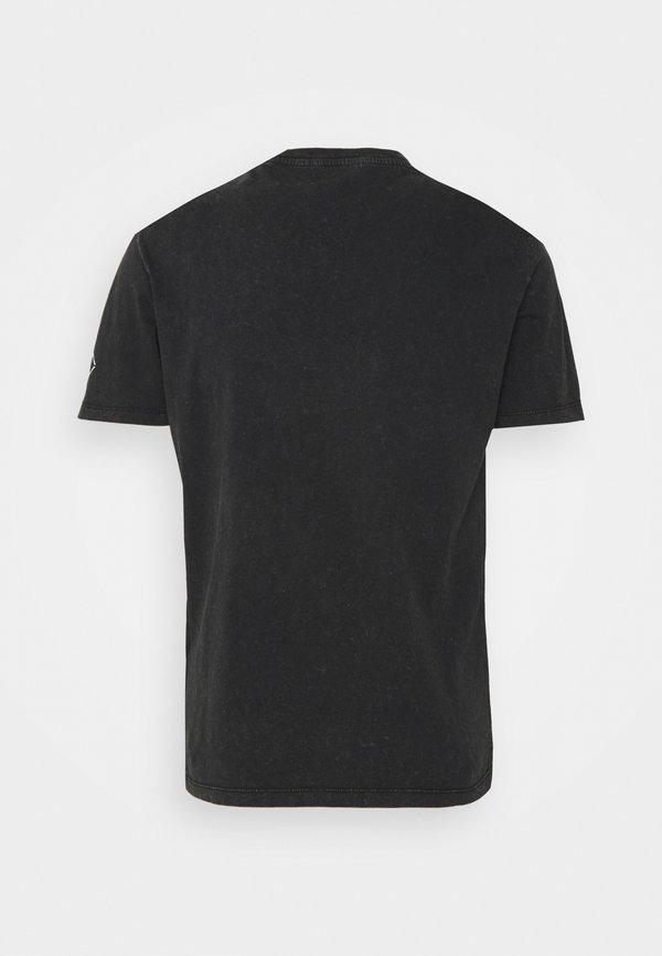 Replay T-shirt z nadrukiem - blackboard/czarny Odzież Męska XGXT