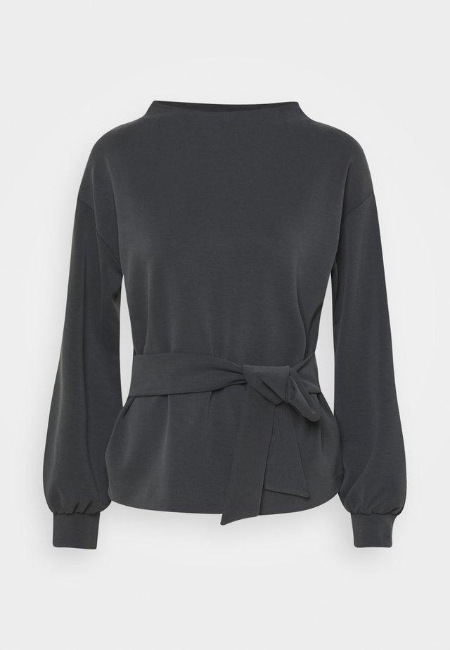 GURICKEL - Sweatshirt - slate grey melange