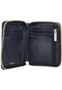 DKNY - BRYANT ZIP AROUND LOGO - Monedero - black - 4