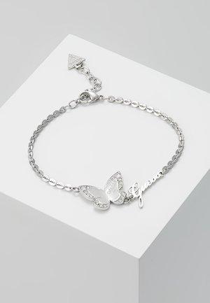LOVE BUTTERFLY - Bracelet - silver-coloured