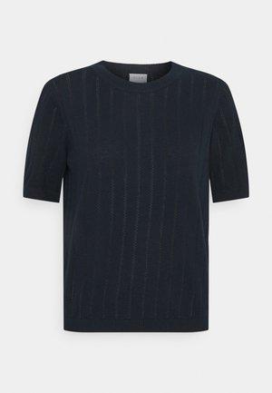 VIALIMA O NECK - Printtipaita - navy blazer