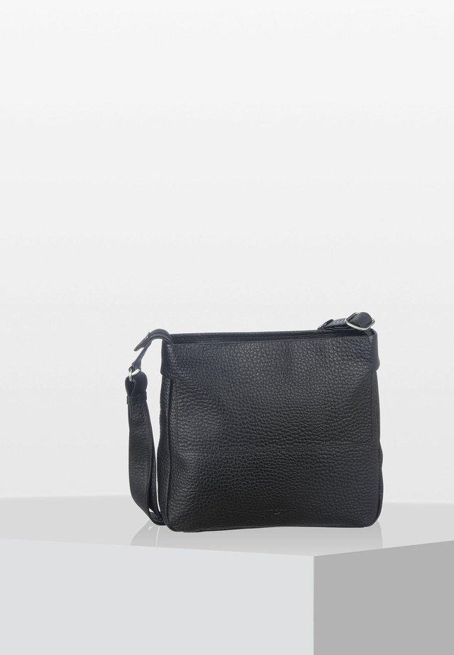 PETUNIA  - Across body bag - black