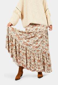 Isla Ibiza Bonita - PARAISO - Pleated skirt - autumn paradise - 4