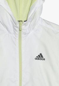 adidas Performance - Training jacket - white/yeltin/black - 4