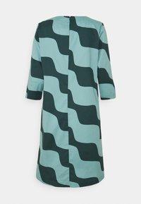 Marimekko - OLKOON TAIFUUNI DRESS - Day dress - turquoise/green - 6