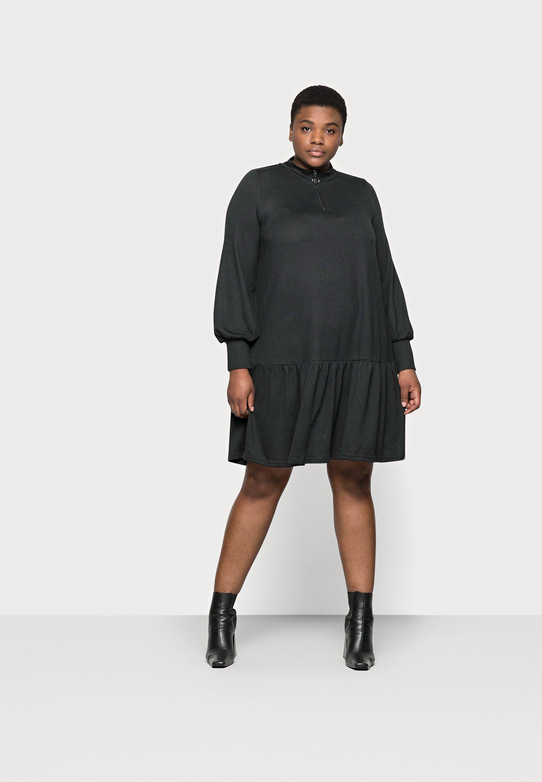 Women CARPIXI ZIP TUNIC DRESS - Jumper dress