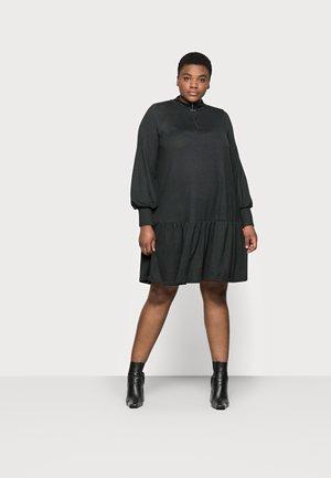CARPIXI ZIP TUNIC DRESS - Jumper dress - black