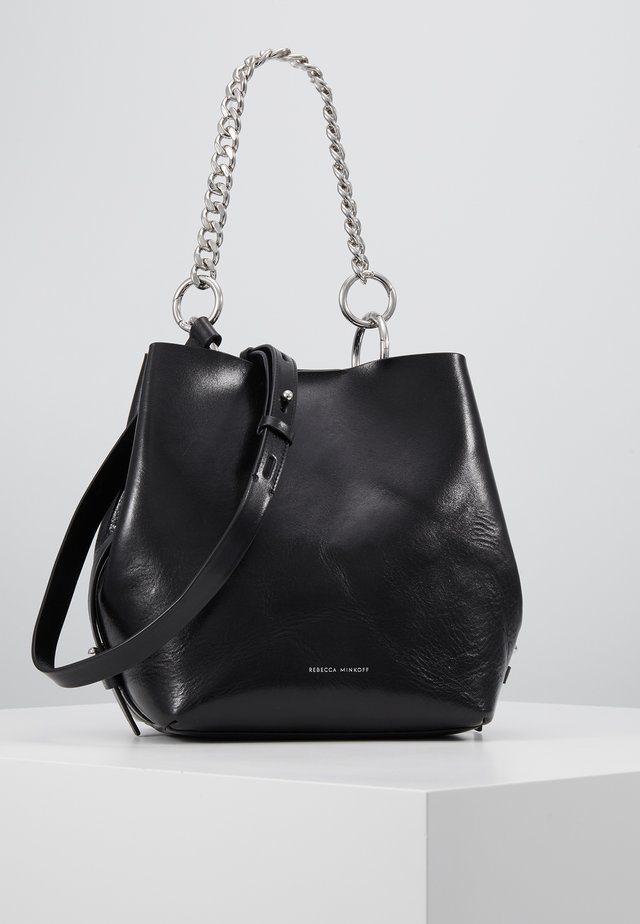 KATE BUCKET - Handbag - black