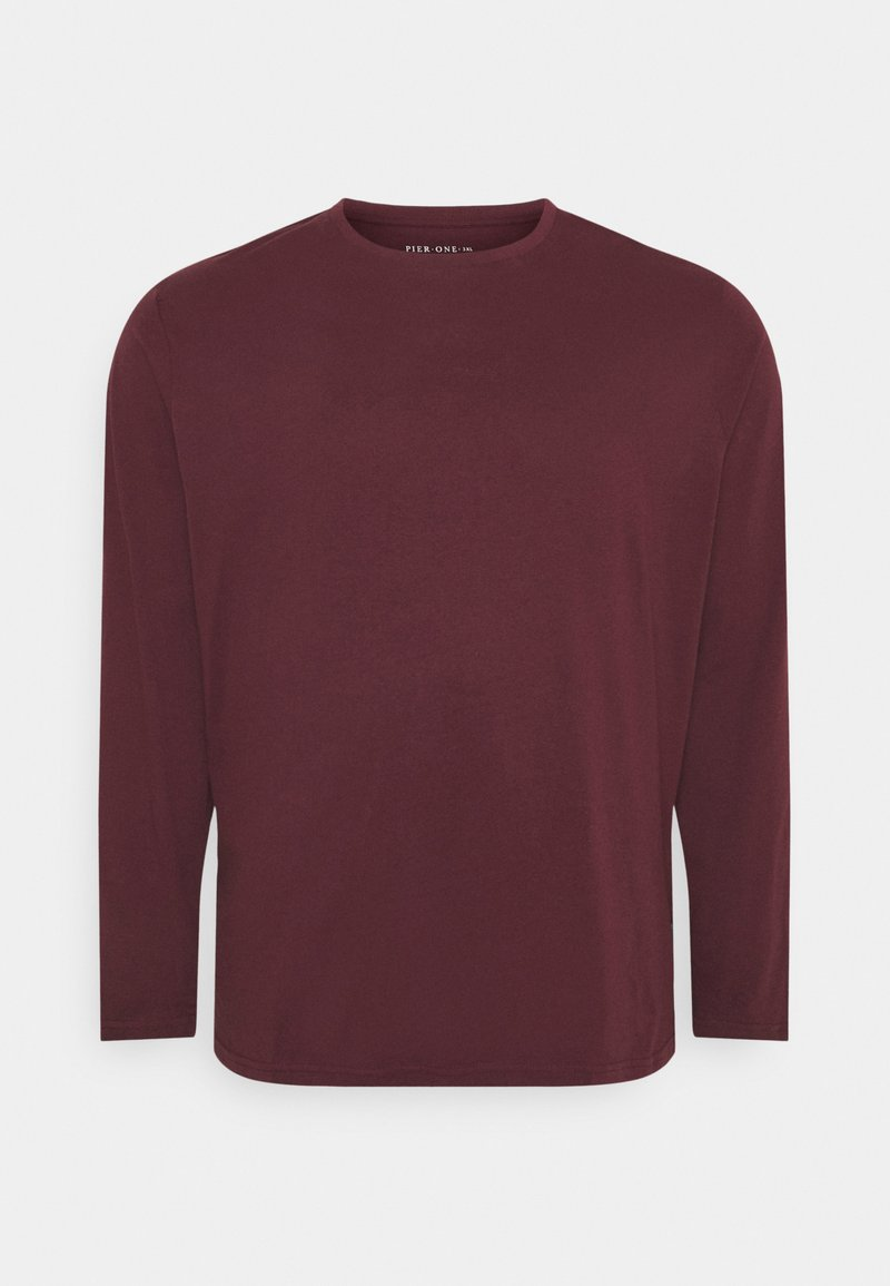 Pier One - Long sleeved top - bordeaux