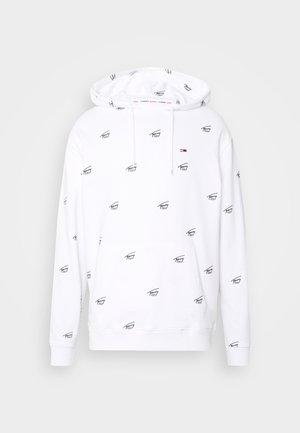 CRITTER HOODIE - Sweatshirts - white