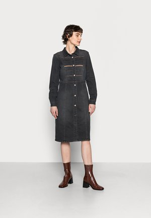 ROSITA DRESS - Denim dress - black wash