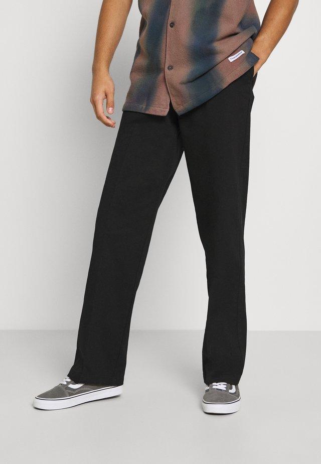 CLASSIC WORKPANT - Pantalones chinos - black