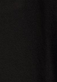 Zizzi - VLILLY  A SHAPE TEE - Print T-shirt - black - 2