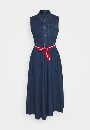 ABITO - Robe en jean - denim blue