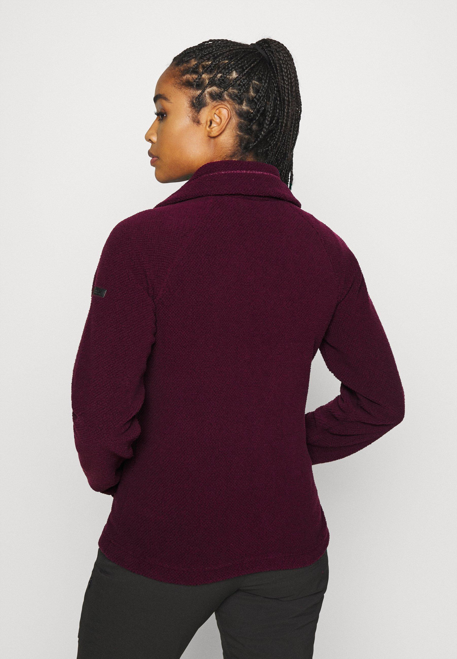 Regatta ZAYLEE - Fleece jacket - dark burgundy kjzaZ