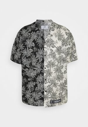 TROPICAL - Shirt - black/white