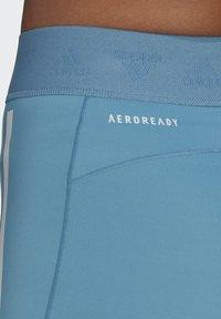 adidas Performance - SPEED CREATION SHORTS - Sports shorts - blue - 4