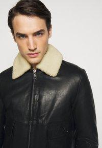 DRYKORN - GRYT - Leather jacket - schwarz - 4