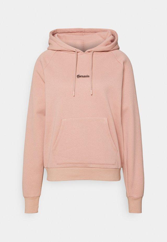 OPEN BACK GENESIS HOODIE - Sweatshirt - pink