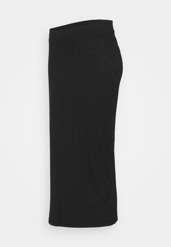 BUMP SKIRT - Maxi sukně - black