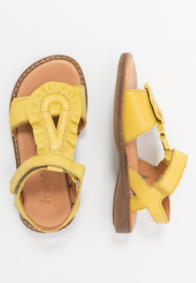LORE MEDIUM FIT - Sandali - yellow