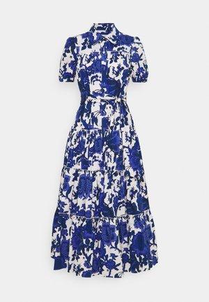 QUEENA - Shirt dress - blue