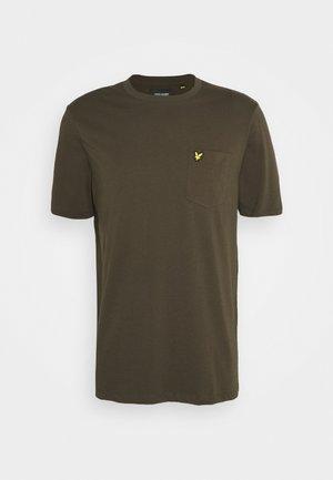 RELAXED POCKET - T-shirt basic - trek green