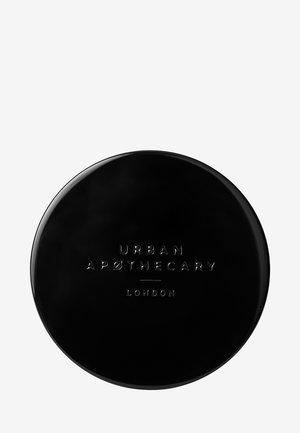 BLACK METAL CANDLE LIT - Świeca zapachowa - -