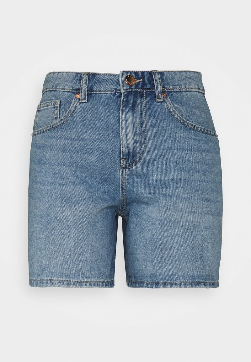 ONLY Petite - ONLPHINE LIFE - Shorts di jeans - light blue denim