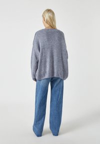 PULL&BEAR - Cardigan - mottled grey - 2