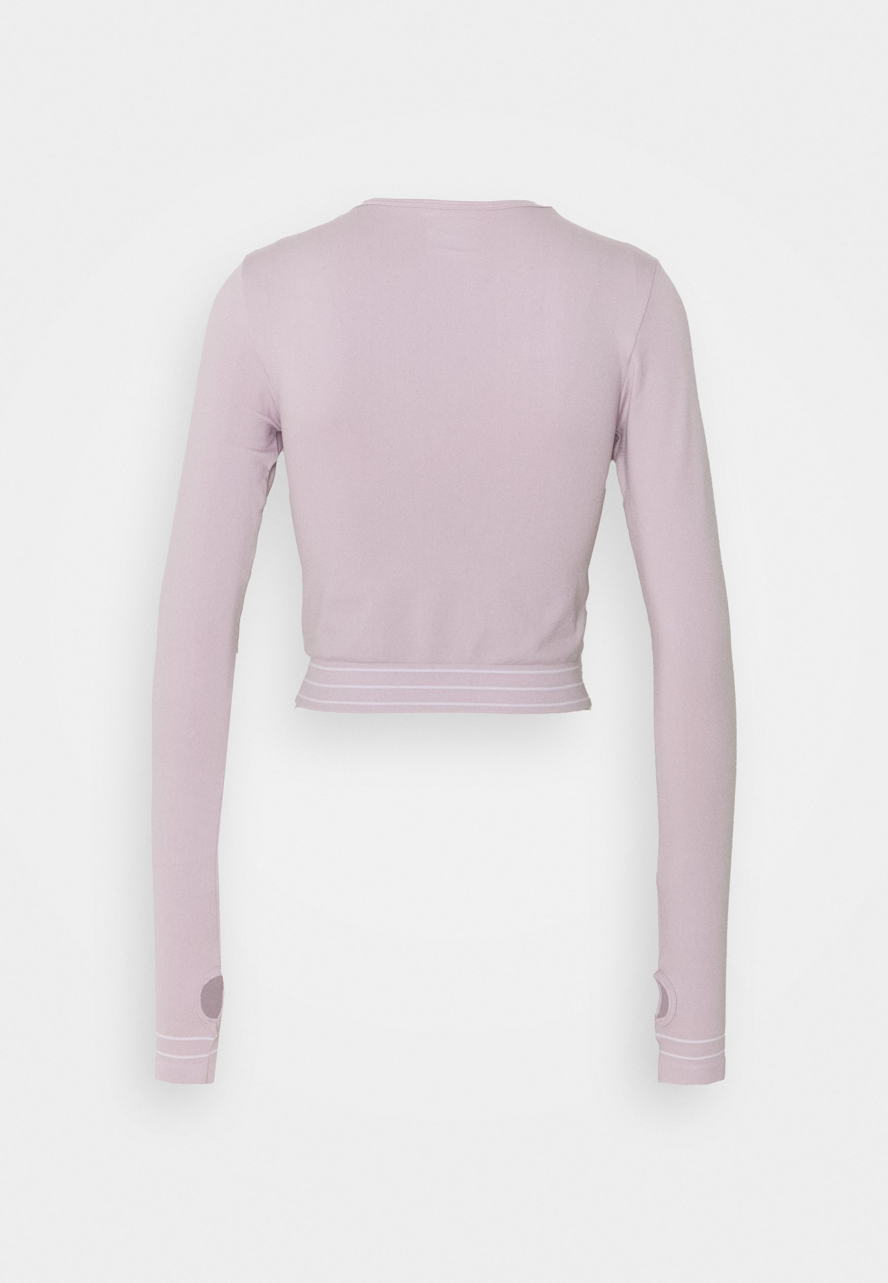Missguided Seamless Long Sleeve - Topper Langermet Grey/grå