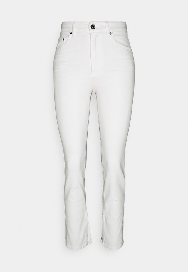 COMFY PETITE SLIT - Jeans Skinny Fit - offwhite